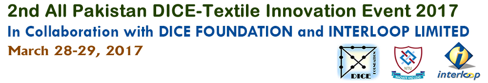 2nd All Pakistan DICE-Textile Innovation Event logo