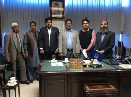 Visit of Dice Textile Management team to FCCi
