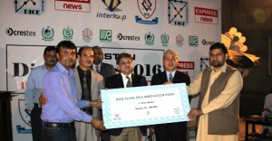 Dr. Munir Ashraf First Prize winnner