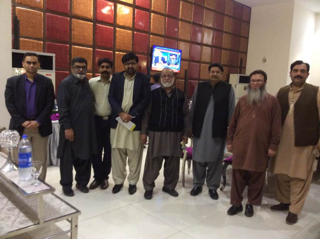A Delegation of National Textile University visited Faisalabad Dyes and Chemical Traders Group