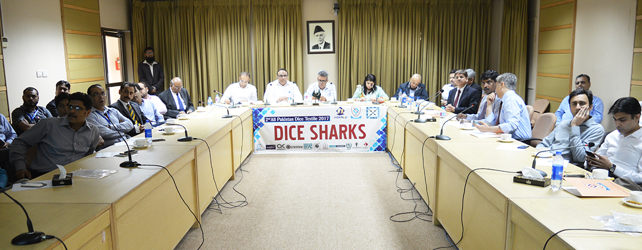 DICE Shark session during 2nd All Pakistan DICE Textile Innovation-2017