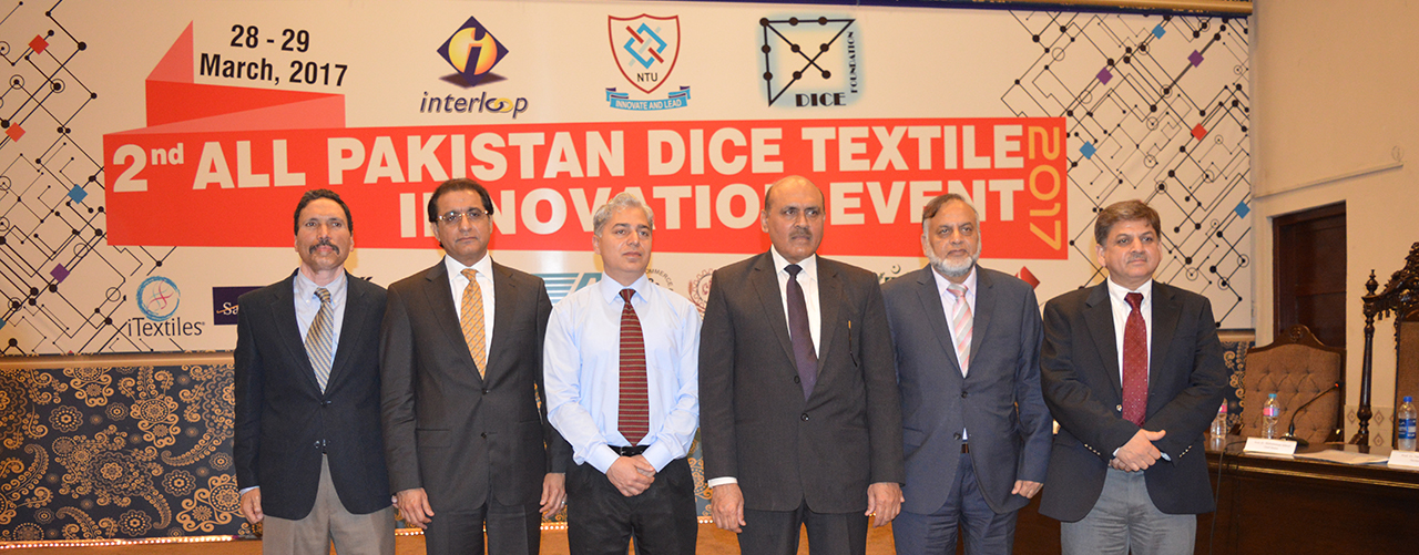 Opening Ceremony of 2nd All Pakistan DICE Textile Innovation Event-2017