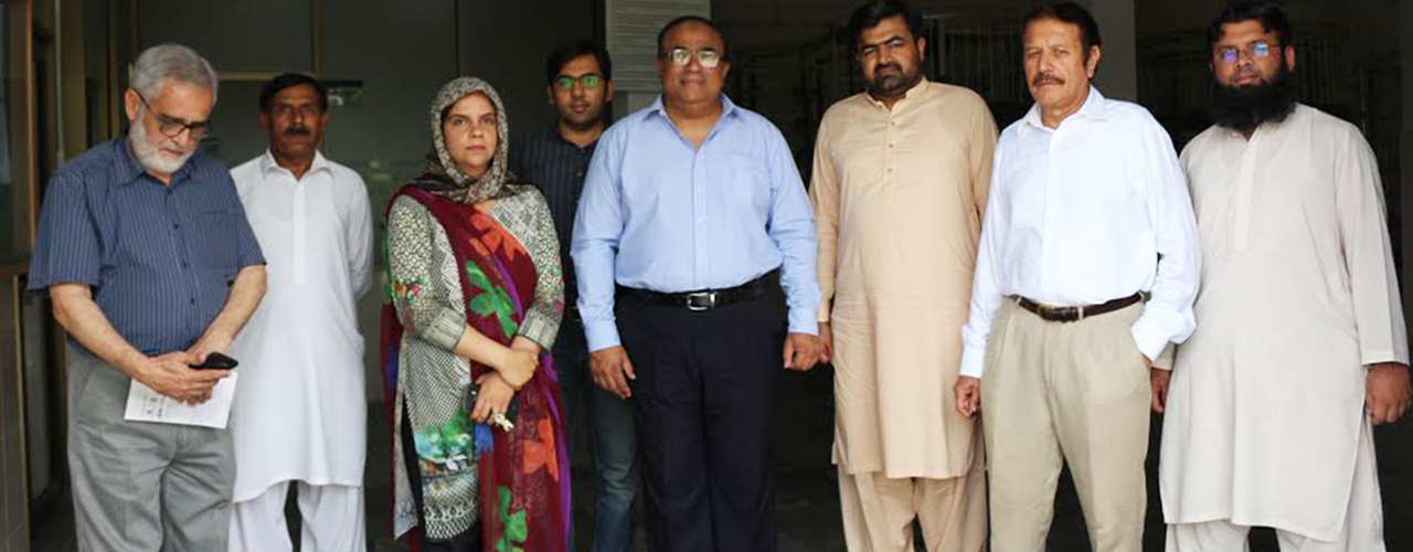 Visit of combined delegation of FCCI and PHMA of Knitting Department