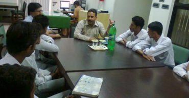 A Delegation from Islamia College, Faisalabad Visited NTU Library