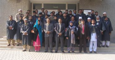 A Delegation of (80) Teachers/Library Incharges from Schools of District Faisalabad, Govt. of the Punjab Visited NTU Library