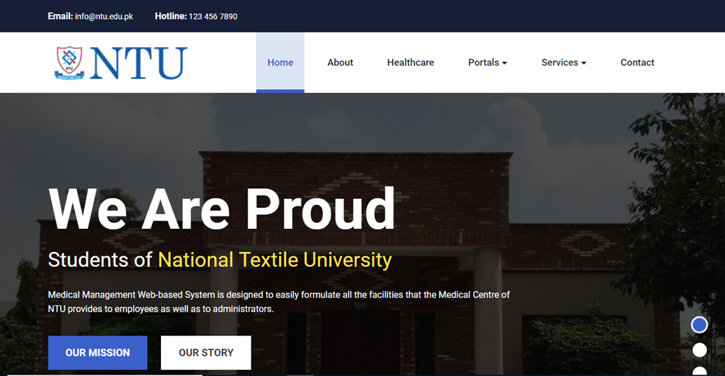 Department of Computer Science - National Textile University