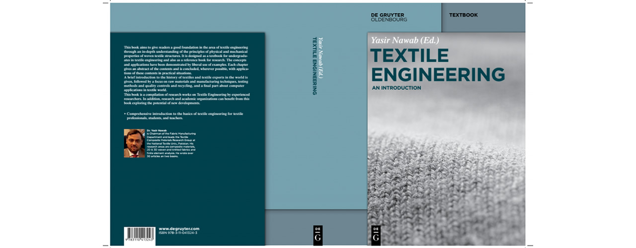 Book Published: Textile Engineering An Introduction