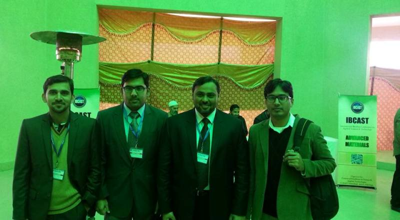 Textile Composites Research team participated in IBCAST Conference