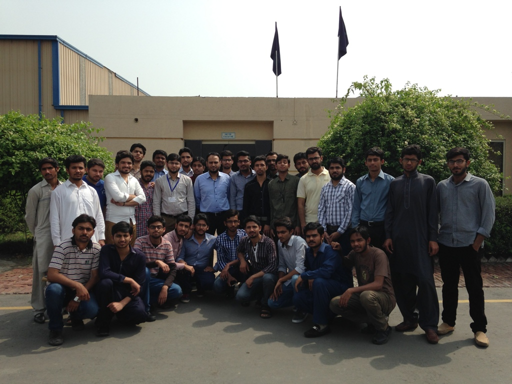 Industrial Tour to Arshad Corporation Pvt. Ltd. (Department of Textile Processing)