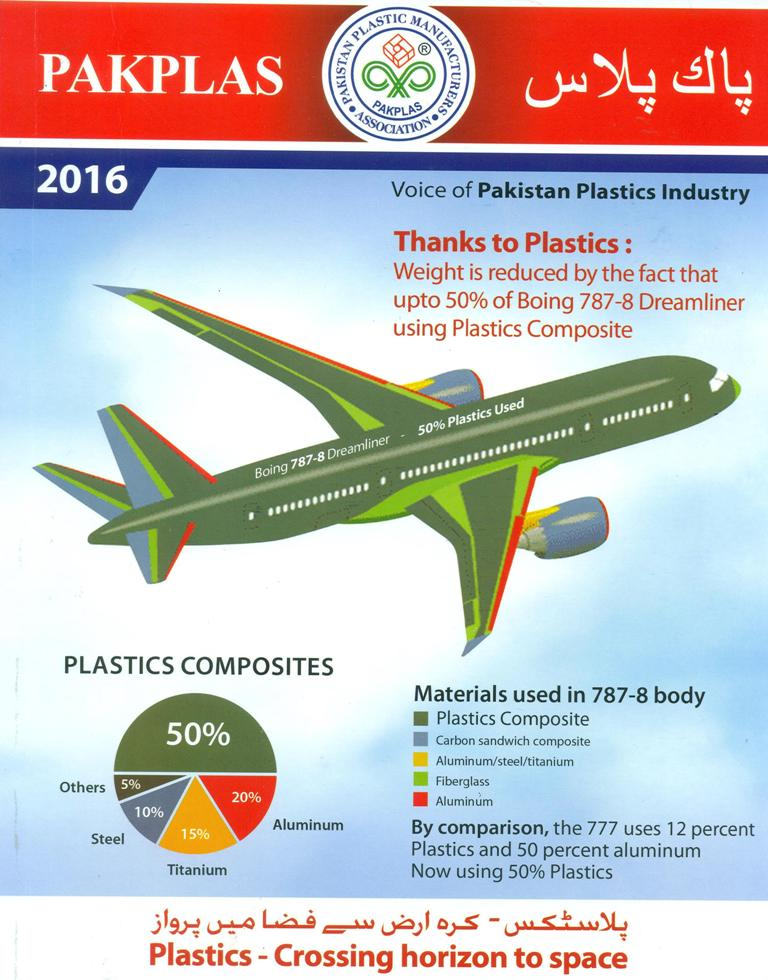 DPE Projects are Made Part of PAK PLAS 2016 Magazine by Pakistan Plastic Manufacturers Association.