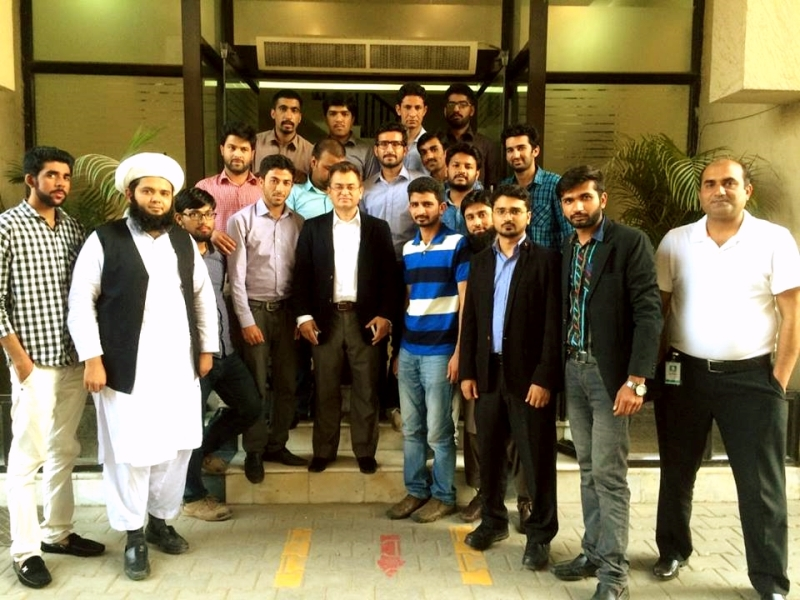 Industrial Tour of Garment Manufacturing Students To K.M. Ashraf & Sons, Sialkot