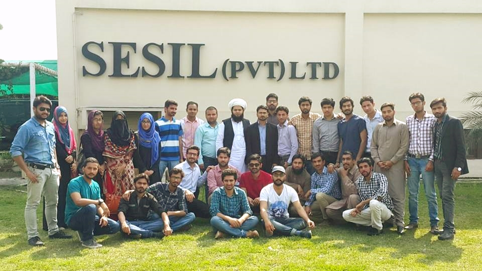 Industrial Tour of Garment Manufacturing Students To Sesil (Pvt) Ltd, Sialkot