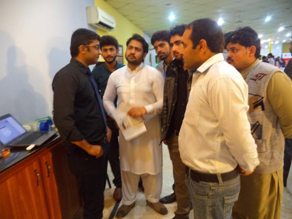 Department of Computer Science Participated in Softech held at Fast Lahore Campus