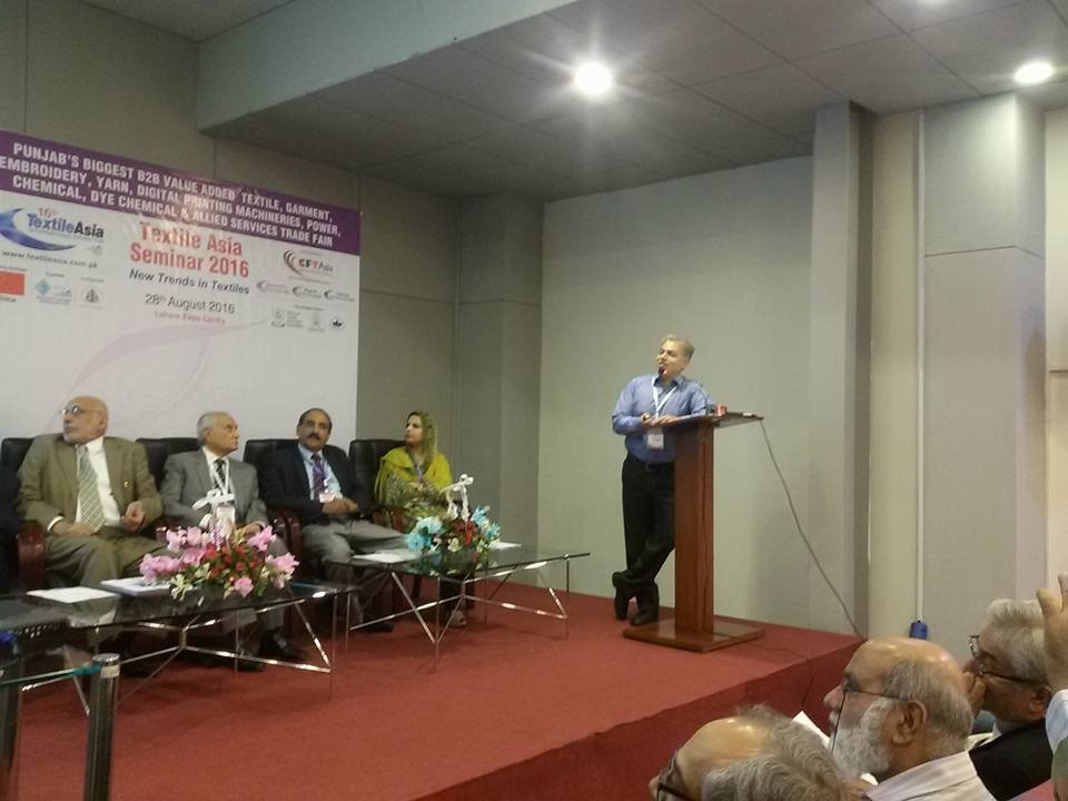 National Textile University, Faisalabad Participated in