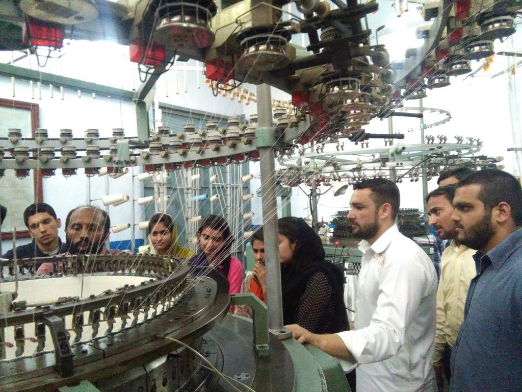 Workshop on Weft Knitting Machines