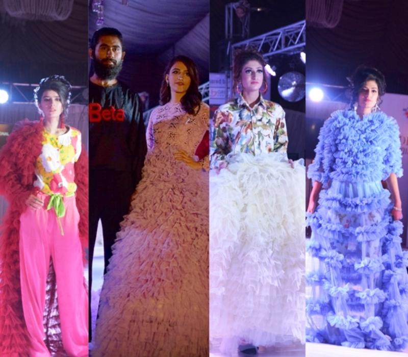 Fashion Design Society Organized Mode Parade 18 At Garvaish Hotel Faisalabad National Textile University Faisalabad Ntu