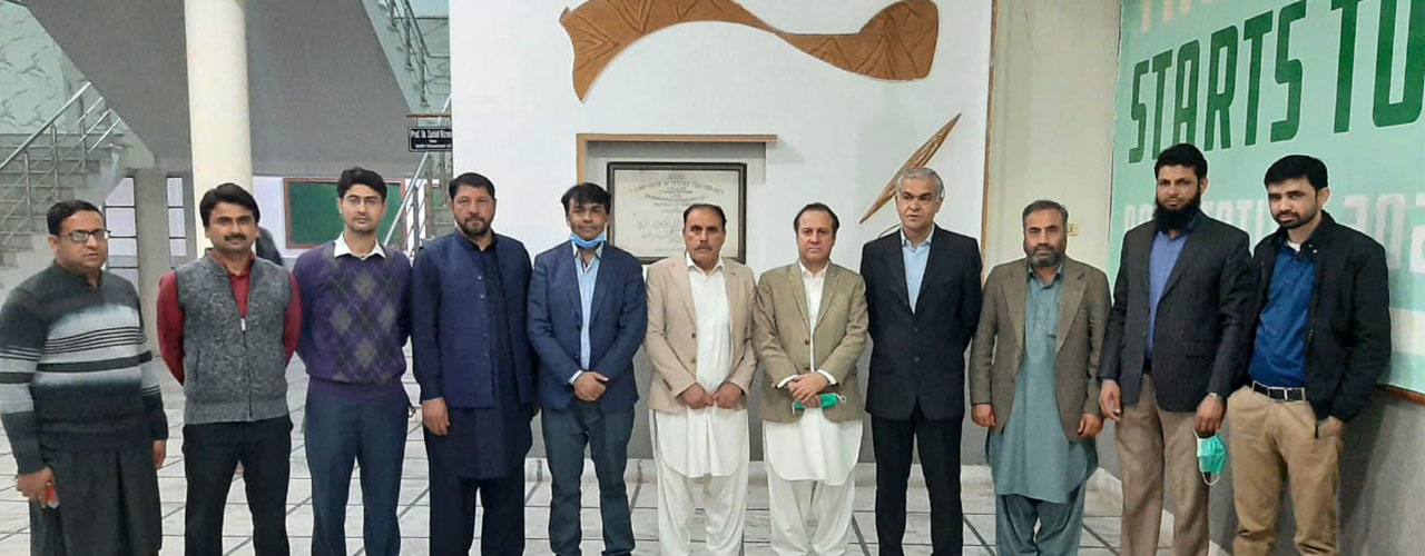 Visit of Swabi Chamber of Commerce & Industry to NTU for the facilitation to establish Textile College/Institute