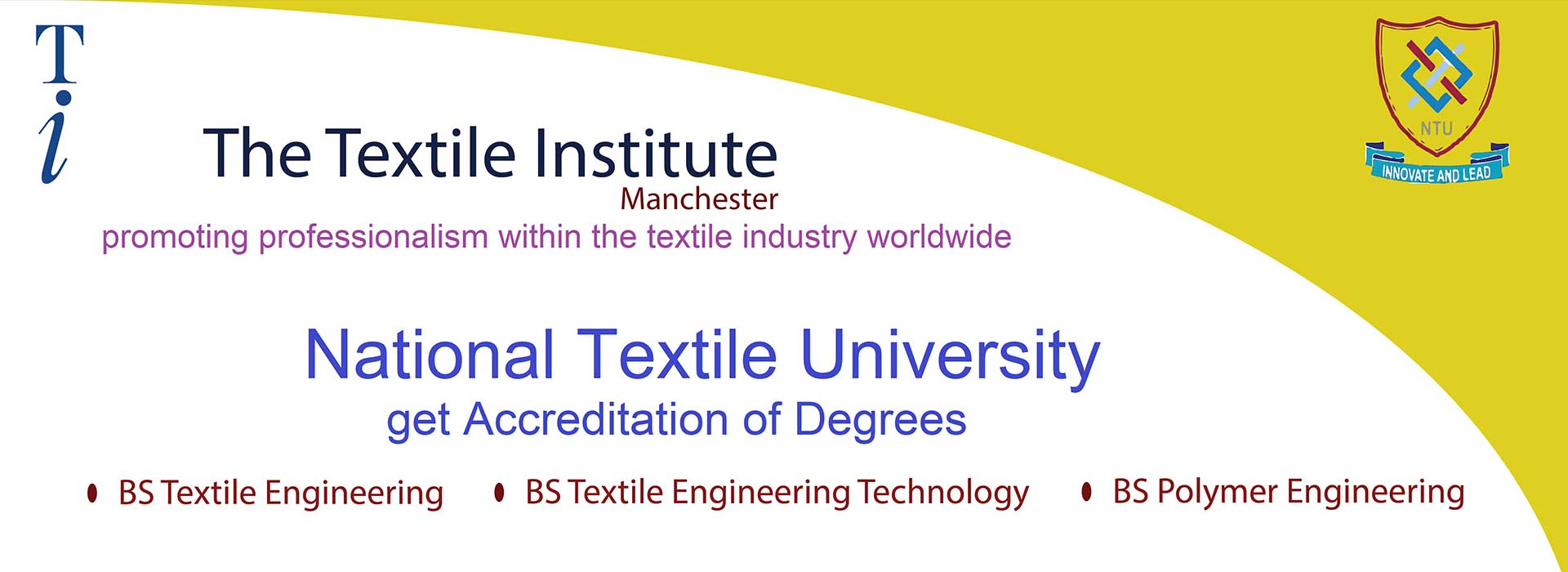National Textile University Faisalabad | NTU